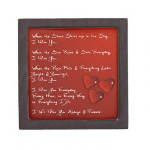 Grieving Mother Quote Keepsake Small Box Premium Gift Boxes