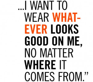 Lauren Hutton Quote!♥