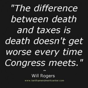Will Rogers Quote.