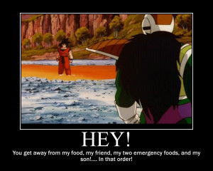Goku's Food!--(Poster) by XPvtCabooseX