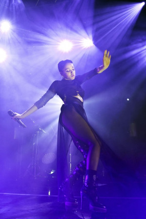 FKA Twigs Performs During A Concert In Berlin Germany Photograph