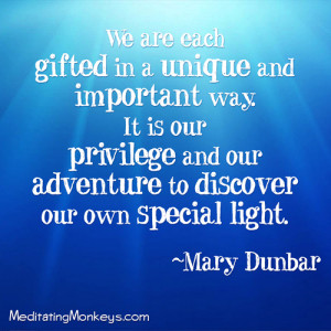 Here's some great quotes on letting your light shine: