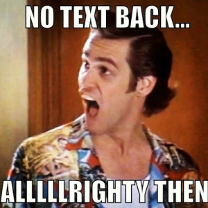 Don't text him back! Instead, head over to Dateless n Dallas to read ...