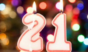Your 21st Birthday: A GIF Timeline