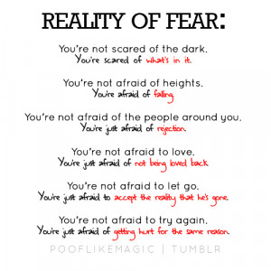 afraid to love quotes