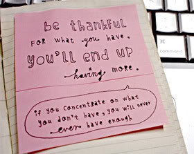Being Thankful Quotes & Sayings