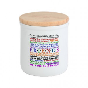 Friends TV Quotes Cookie Jar