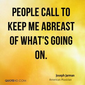 Abreast Quotes