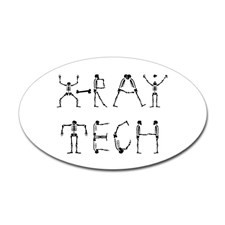 Ray Tech Oval Sticker for