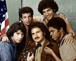 The Sweathogs with Mr. Gabe Kotter - WELCOME BACK, KOTTER
