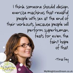 tina fey weight loss quotes