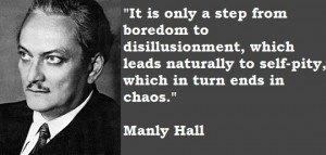 Self-Pity Which in Turn Leads to Chaos