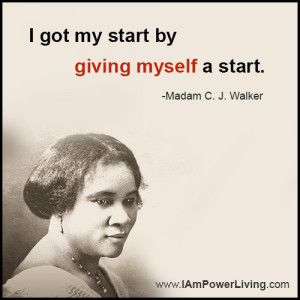 Madam Cj Walker Quotes Quotesgram
