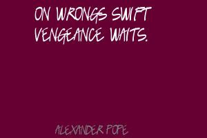 Famous Quotes About Vengeance