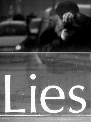 Caught In A Lie