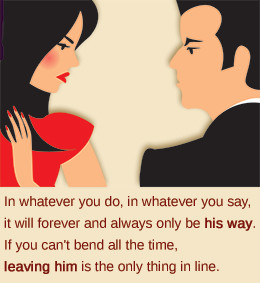 Many marriages would be better if the husband and the wife clearly ...
