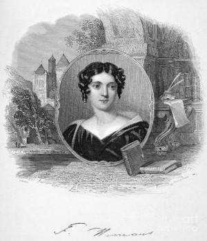 Felicia Hemans 1793 1835 Photograph