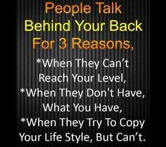 Like backstabbing friends