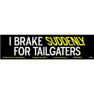 ... Black Yellow Offensive Rude Bumper Stickers Quotes Sayings Phrases Ca