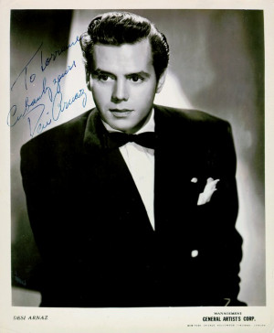 ... Arnaz is best known for his role as Ricky Ricardo in the early