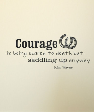 Look what I found on #zulily! Black John Wayne Wall Quote by ...