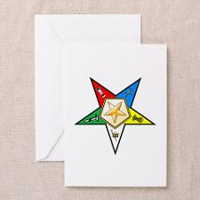 Eastern Star Greeting Cards