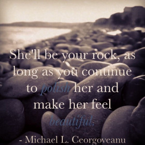 ... as long as you CONTINUE to compliment her and make her feel special