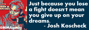 Fight Quotes on Losing and Learning from losses
