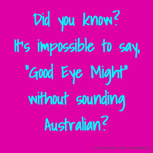Australian Sayings and Quotes