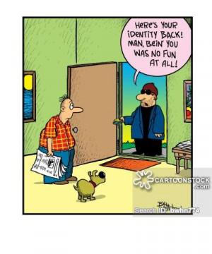 ... Pictures identity theft cartoons identity theft cartoon funny identity