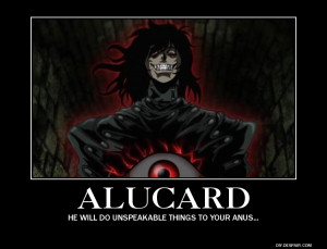 ... scary. And hes immune to illusions, so that fear inducement wont be