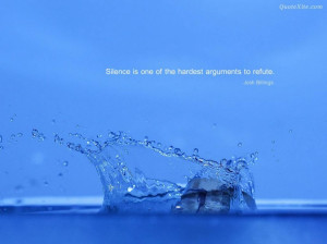 ... With Inspirational Quotes: Scattered Water With Inspirational Quotes
