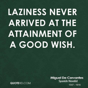Miguel de Cervantes Quotes