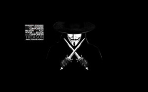 Quotes Masks Guy Fawkes V For Vendetta Anonymous Wallpaper