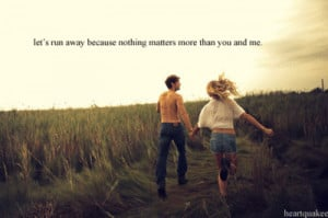 Running Away quote #2