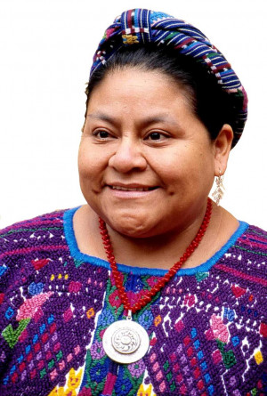 Guatemala - Rigoberta Menchú Tum. - -