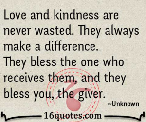 Love and kindness quotes