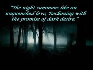 Dark desire quote