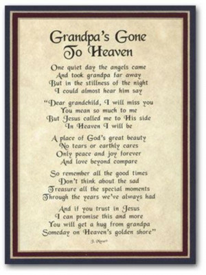 Rest in peace grandpa