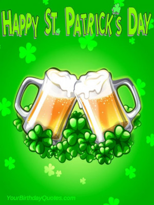 Happy St Patrick's Day