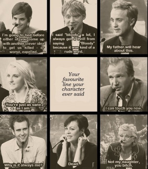 Harry Potter Cast Quotes