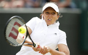 Laura Robson did not produce her best form in straight sets defeat to ...
