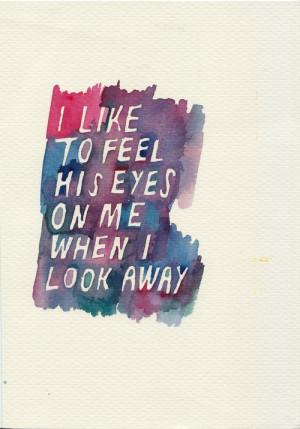 Before Sunrise // 1995 // Richard Linklater - I like to feel his eyes ...