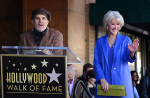 Helen Mirren receives a star on the Hollywood Walk of Fame in Los ...