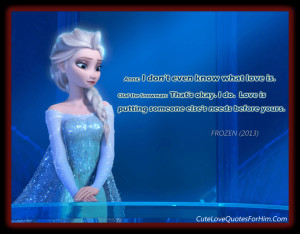 beautiful love quotes for him tumblr Cute Love Quotes For Him Frozen ...