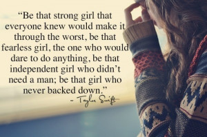 be fearless, beautiful, girl, inspiring, quote, swift, taylor