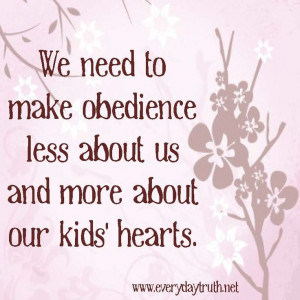 Obedience is an Act of Love