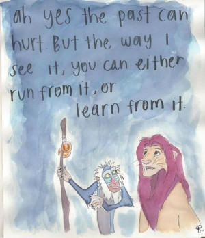 YES! LOVE the lion king quotes