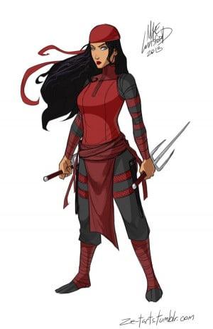 Female Superheroes In Full Dress