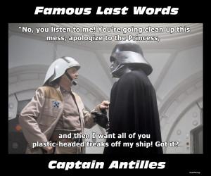 Famous Last Words Good Meme
